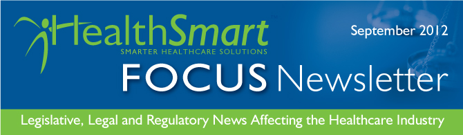 Focus Newsletter September 2012