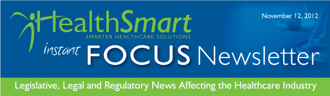 November Instant Focus-Update on Healthcare Reform
